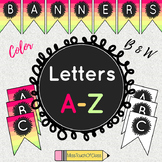Classroom Banners (Letters A-Z)