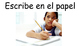 Classroom (Basic) Commands Using Supplies in Spanish