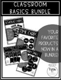 Classroom Basics Bundle - EDITABLE