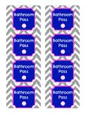 Classroom Bathroom Passes