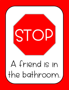 New 30 bathroom sign for classroom decorating design of for Bathroom signs for classroom