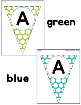 Classroom Beautiful: Sweet Shoppe BUNTING