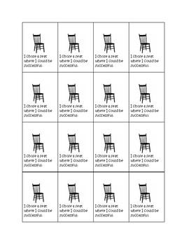 Classroom Behavior BRAG TAGS