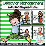 Classroom Behavior Cards...Modeling Positive Behavior!