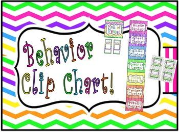 Classroom Behavior Chart !