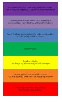 Classroom Behavior Chart 1