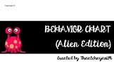Classroom Behavior Chart - Alien Edition