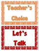 Classroom Behavior Chart - Beach Theme