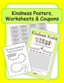 """Classroom Behavior Charts: """"Kindness Pack"""" Posters, Worksh"""