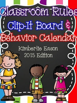 Classroom Behavior Charts, Rules, and Calendars