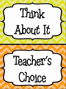 Classroom Behavior Clip Chart W/ Matching Weekly Log