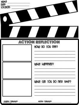 Classroom Behavior Forms
