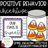Positive Behavior Incentive- Candy Corn