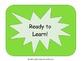 Classroom Behavior Ladder