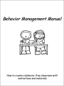 Classroom Behavior Management Manual