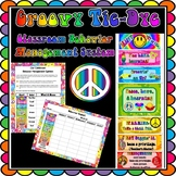 Classroom Behavior Management Clothespin System - Groovy T