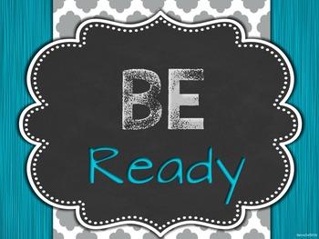 Classroom Behavior Management Posters (PBIS)