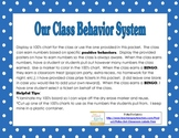 Classroom Behavior Management System with Reward Tickets