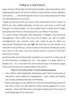 Classroom Behavior Management strategies and Printables