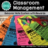 Classroom Behavior Plan | Classroom Management Plan | For