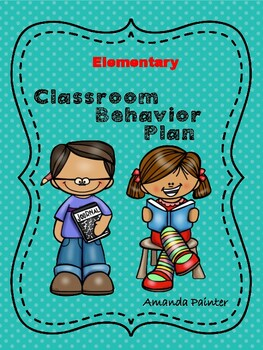Classroom Behavior Plan: Elementary