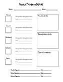 Classroom Behavior Report