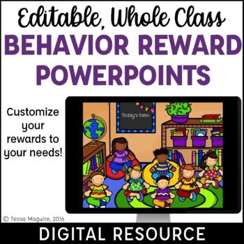 Classroom Behavior Reward System