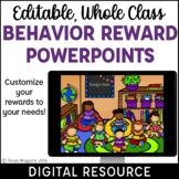 Classroom Behavior Reward System