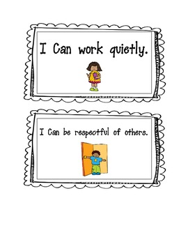 Classroom Behavior Rules Posters