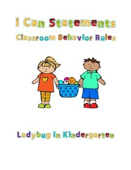 Classroom Behavior Rules Posters
