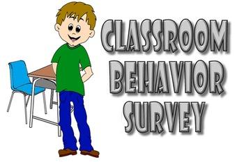 Classroom Behavior Survey