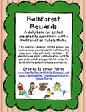 Classroom Behavior Management System Rainforest or Jungle Theme