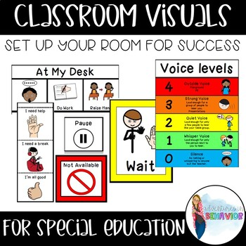 Classroom Behavior Visuals