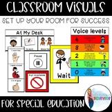 Classroom Behavior Visuals   Classwide Behavior supports