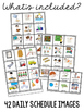 Classroom Behavior Visuals Kit for Special Education Students