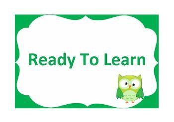 Classroom Behavioural System (Owls)