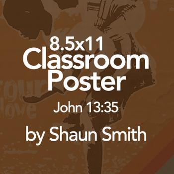 Classroom Bible Poster - John 13:35