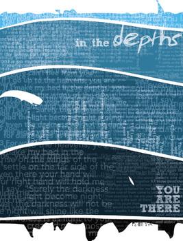 Classroom Bible Poster - Psalm 139 Depths