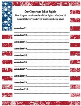 Classroom Bill of Rights