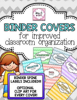 Classroom Binder Covers & Insert Pages