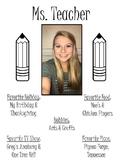 Classroom Binder Profiles