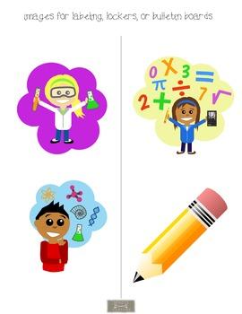 Classroom Binder-Teacher Planner, polka dots with cute kids
