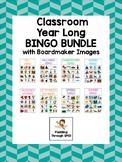 Classroom Bingo Bundle - Boardmaker Bingo - Special Education