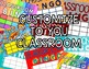 Classroom Bingo Reward System