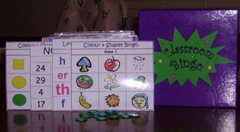 Classroom Bingo - Tricky Sounds
