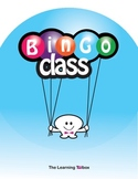 Classroom Bingo Vocabulary Game in Spanish