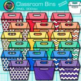 Classroom Bins Clip Art: Classroom Library Book Container