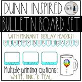Classroom Birthday Board - Rae Dunn Theme