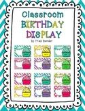 Classroom Birthday Display