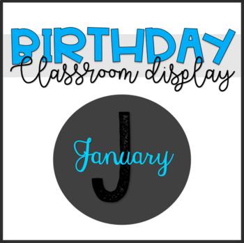 Classroom Birthday Display / Poster Set